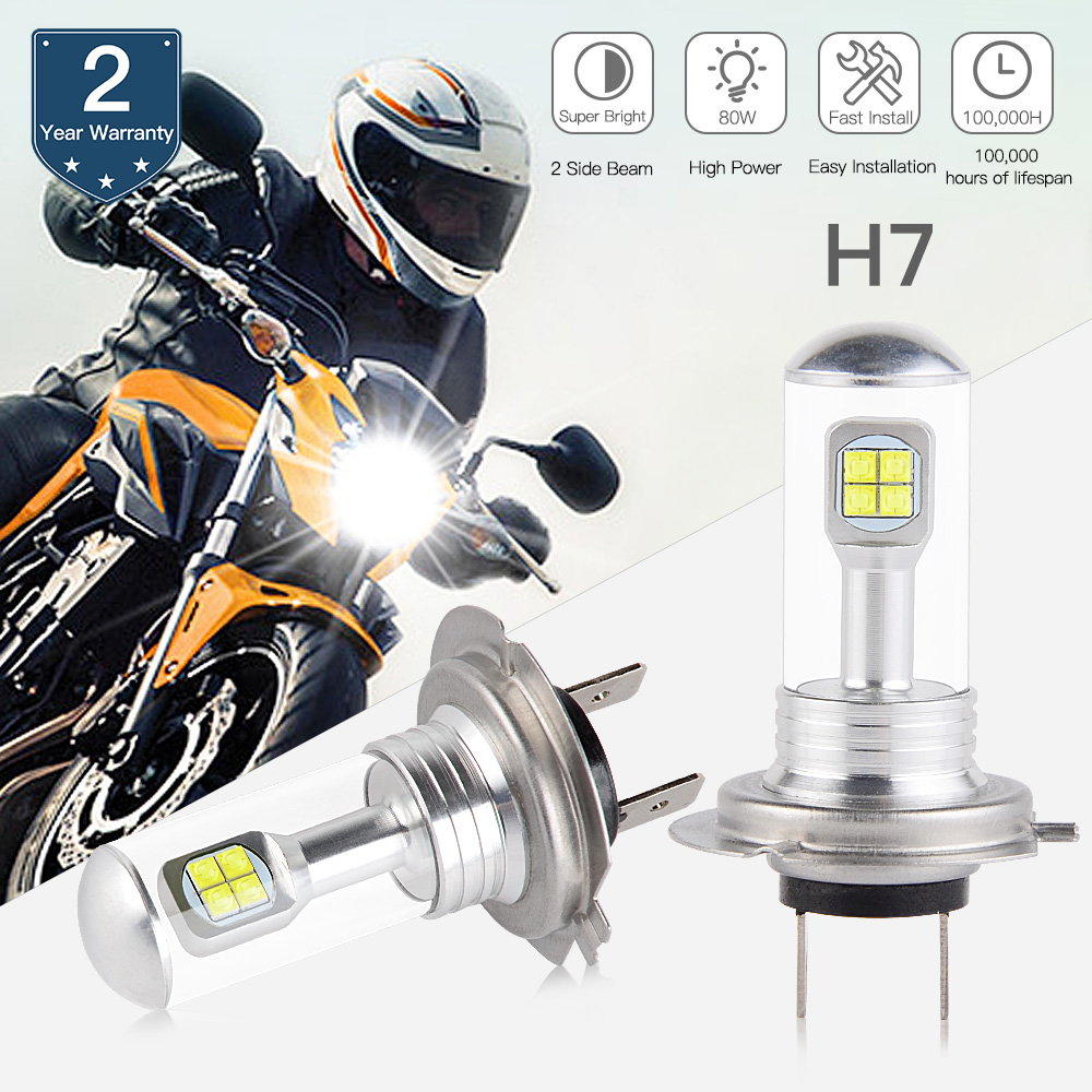 NICECNC LED Headlight Bulb For Kawasaki ZX1000 EX300 EX650 Ninja ZX10R ZX6R 300 650 KLE650 Versys KLR650 ZR900 Z900 ABS 16-2018
