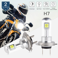 NICECNC LED Headlight Bulb For Kawasaki ZX1000 EX300 EX650 Ninja ZX10R ZX6R 300 650 KLE650 Versys KLR650 ZR900 Z900 ABS 16-2018