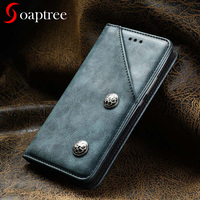 Soaptree For Xiaomi Redmi Note 4X Case Flip Leather Wallet Redmi Note 4 Global Version Cases