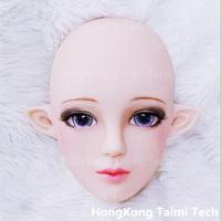 Симпатичные Японии аниме девушка Маска анимация персонажей человеческое лицо Косплэй маска прекрасный маски силиконовые изображения 3D пе