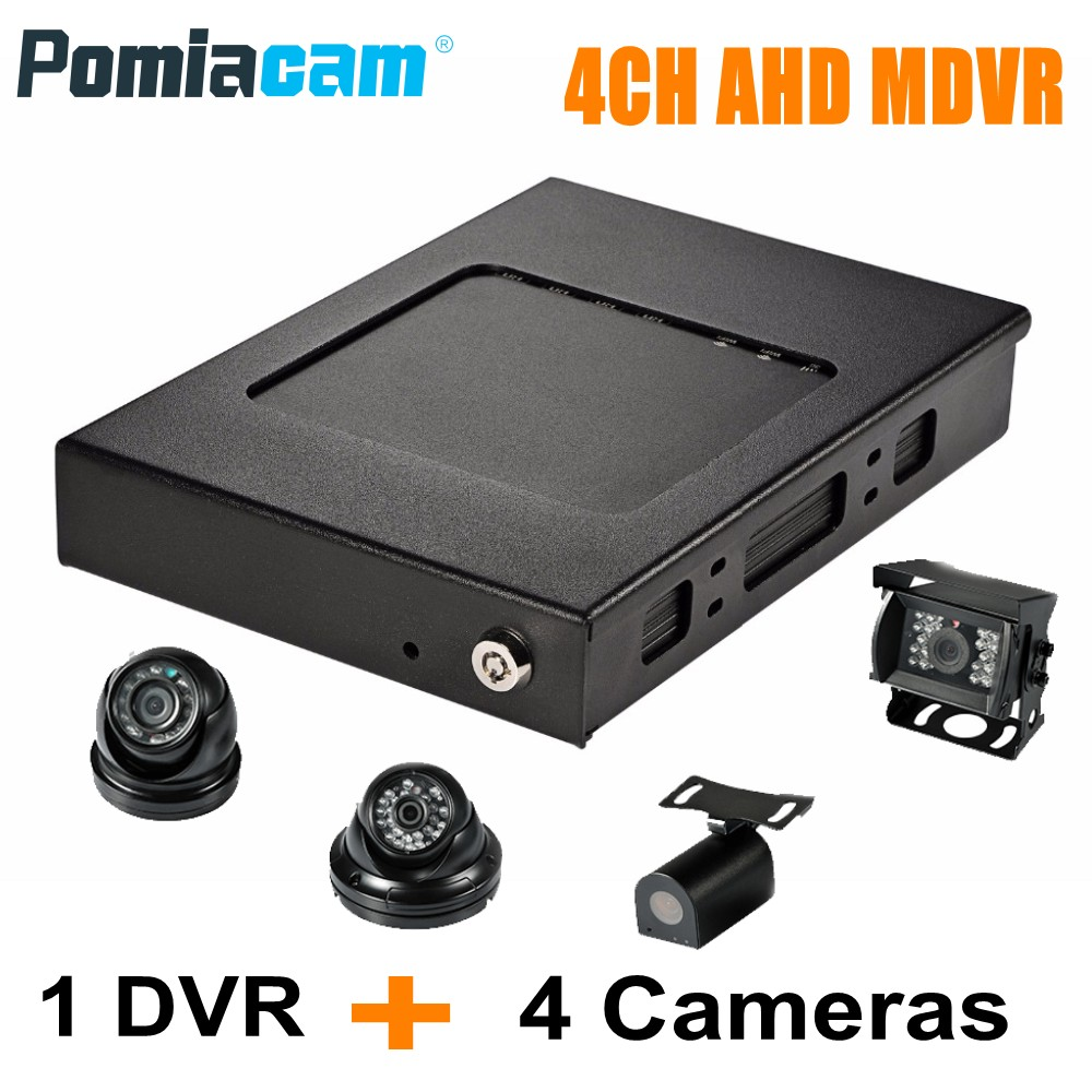 Free DHL HDVR8045 AHD DVR Real FULL HD 1080P 3G 4G WIFI GPS Car Bus Vehicle Mobile DVR 4CH HDD Mobile DVR video record system linux system h 264 4ch video audio input gps cctv vehicle ahd mobile dvr with 4g network remote monitoring real time