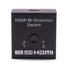 цена на 1080P 3D Video HDMI Switch Switcher HD 4K UHD HDMI Splitter 1X2 2X1 split 1 in 2 Out Amplifier Dual Display for HDTV PS3 Xbox