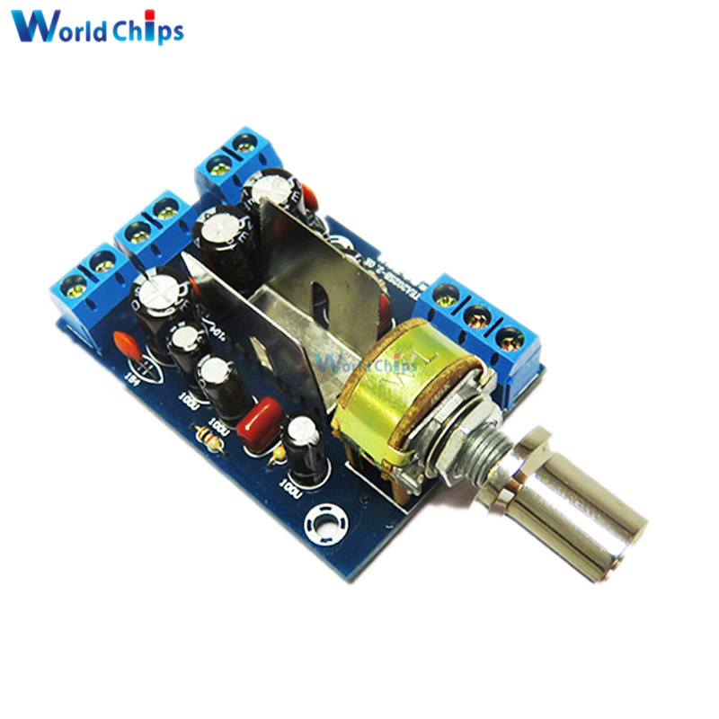 US $1 14 17% OFF|TEA2025B 2 0 Stereo Dual Channel Mini Audio Amplifier  Board For PC Speaker 3W+3W 5V 9V 12V CAR-in Integrated Circuits from  Electronic