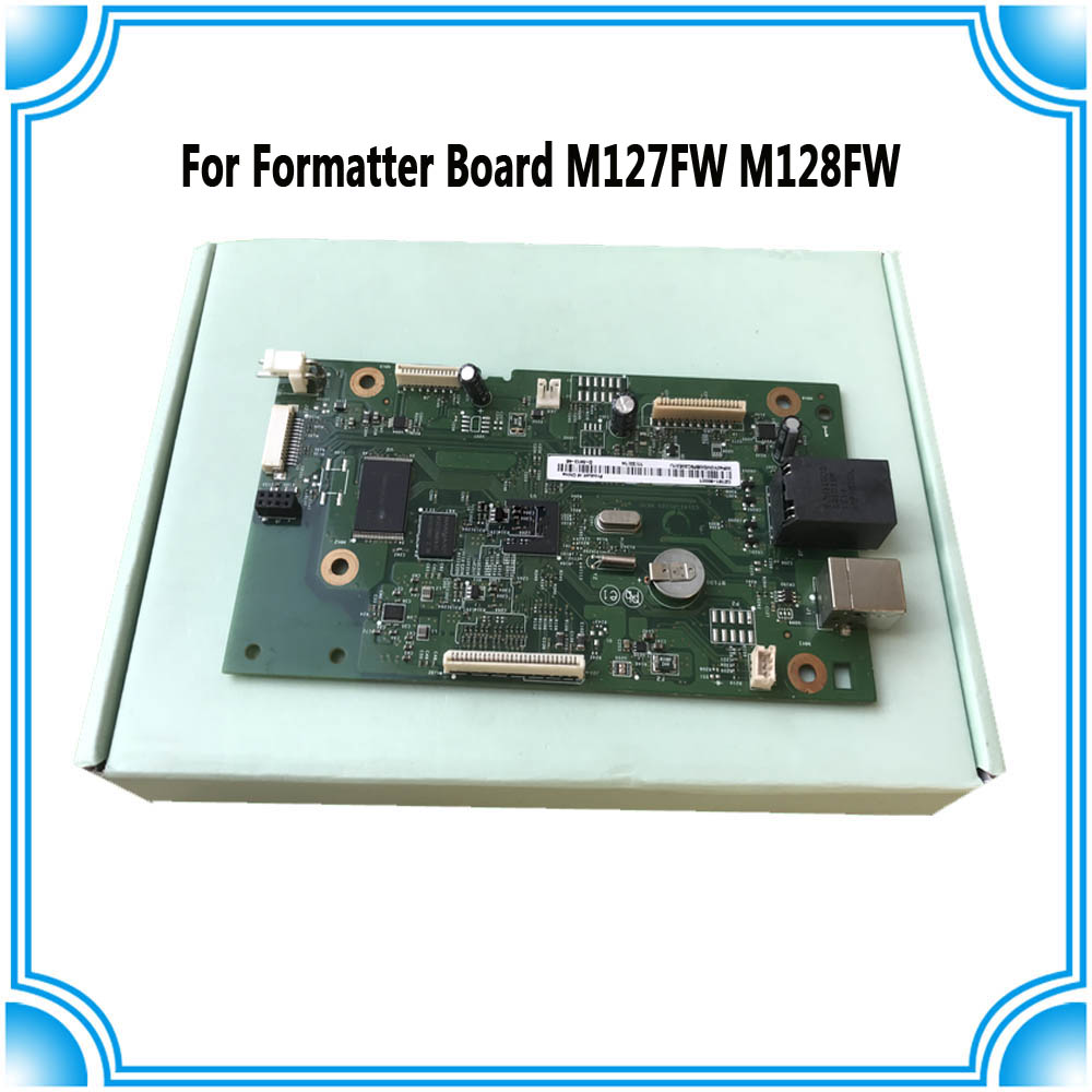 CZ183-60001 CZ181-60001 Formatter Board for HP M127FW M128FW M127 M128 127FW 128FW M127FN M128FN 127FN MainBoard mother board formatter board for hp m127 m128 m127fn m128fn cz181 60001 cz183 60001
