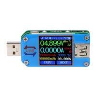Color Screen Tester USB2.0 Voltage Am meter Type C Tester Bluetooth Communication Edition UM25C Practical USB Tester