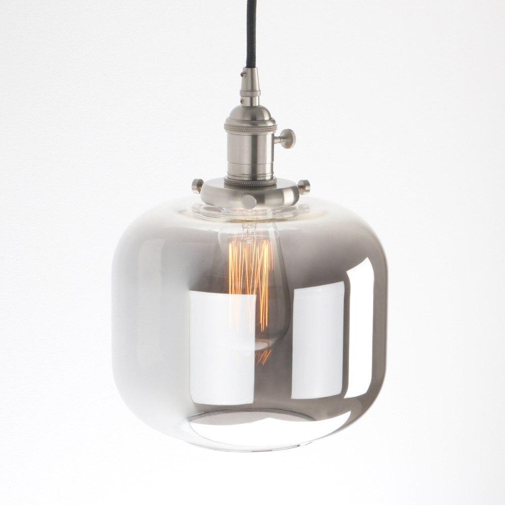 Permo 7 9 Jar Shape Pendant Lights Vintage Retro Loft Pendant Ceiling Lamps Modern Hanging lamp