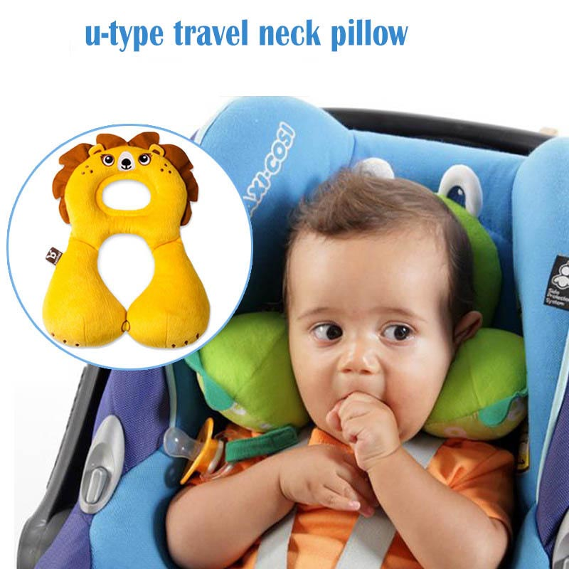baby car headrest baby pillow suit for 1 4years baby kids child sleeping head neck