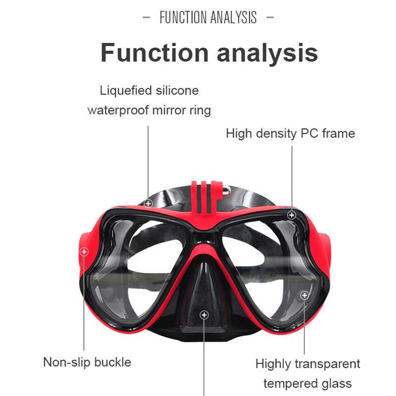 Подводная камера маска для дайвинга плавательные очки для Dji Osmo Action/Gopro/Sjcam Sports/Action camera