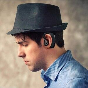 Image 2 - MEUYAG auriculares inalámbricos con Bluetooth para coche, audífonos manos libres con micrófono y gancho para la oreja para iPhone y Samsung, 2019