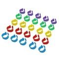 35 шт. внутренний диаметр 2,0 см куриное кольцо курица голубь нога группа птицы голубь птицы перепелиные Гусь цыплята утка попугай Клип Кольца - фото