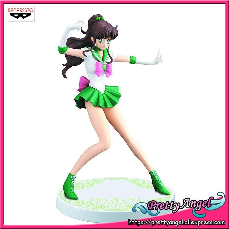 PrettyAngel - Genuine Banpresto Girls Memories Pretty Guardian Sailor Moon Sailor Jupiter Action Figure free shipping 8 pretty guardian sailor moon anime uranus tenoh haruka