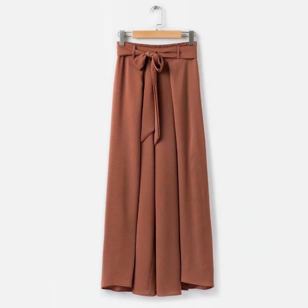 Pantalones largos de las mujeres de la venta caliente de cuadros - Ropa de mujer