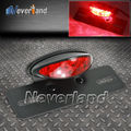 1pcs Motorcycle License Plate Brake Rear Light Metal 12V Taillights for Harley ATV Cafe Racer Freeshipping D15
