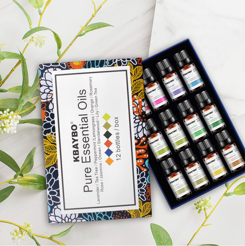 12 Pcs Humidifier Oil 12 Kinds Of Fragrance Jasmine Brand New Water-soluble Oil Essential Oils For Aromatherapy Lavender Oil