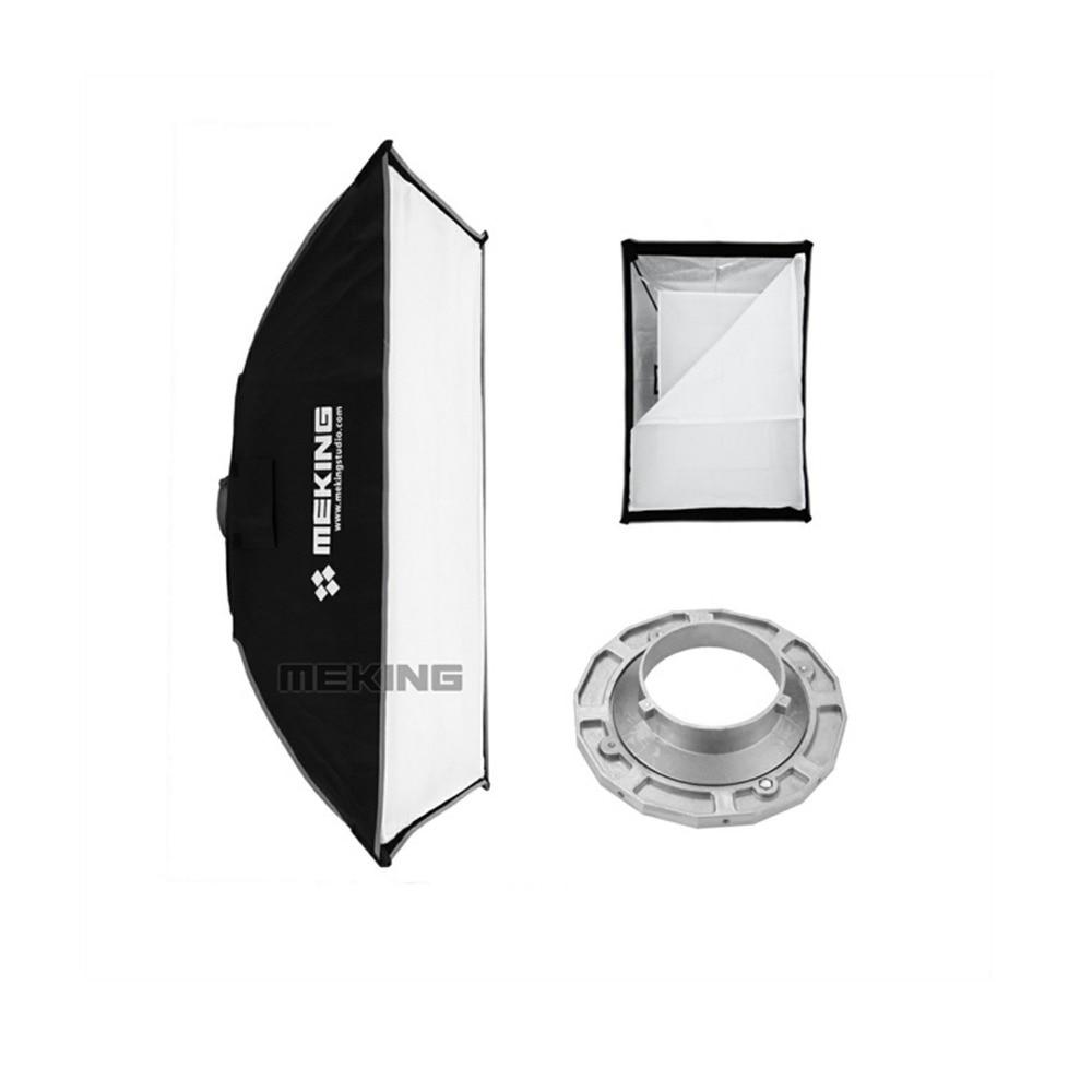 Meking Softbox 120 cm x 180 cm/48 x 71 Strobe mono lumière Softbox avec Vitesse anneau Bowens Montage photographique Photo Studio Accessoires