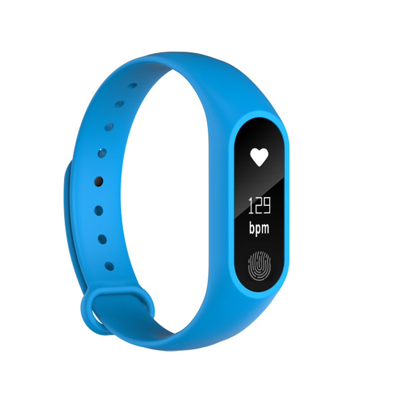 2018 M2 Smart Band Pedometer Smart Bracelet Heart Rate Monitor Smartband Fitness Sleep Tracker Smart Wristband for Android IOS