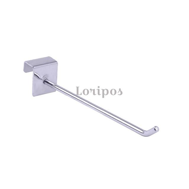 Shelf Wall Mounting Buckle Hook Shelf Hanger Hardware Metal Display Hook Orgnaizer Bracket Sloped Ball Hook Shelf Hook Mount 4