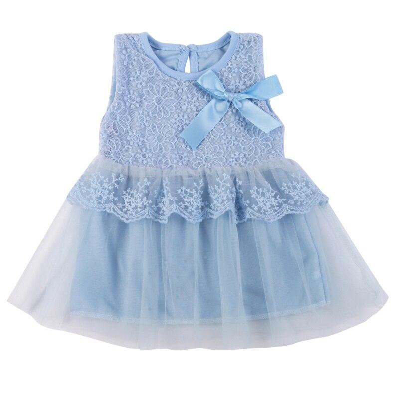 Dziewczynek Sukienki Dzieci Ubrania Bawełna Dzieci Bow Lace Ball - Odzież dla niemowląt - Zdjęcie 4