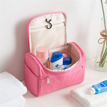 Cosmetic bag female creative portable travel storage large capacity Oxford cloth wash supplies cosmetic