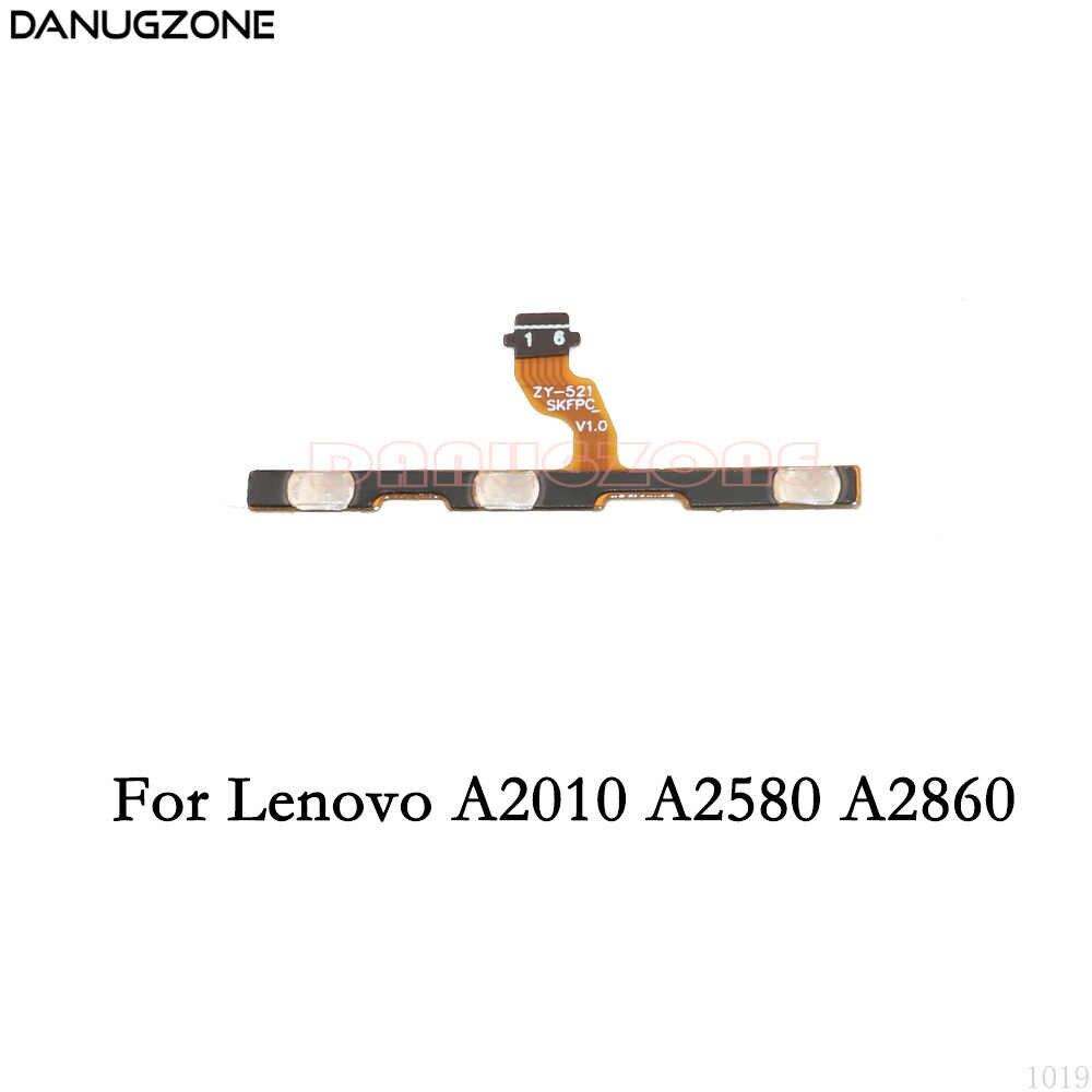 Мощность переключатель кнопка отключения звука кнопка вкл/выкл гибкий кабель для lenovo A2010 A2580 A2860/lenovo Vibe C A2020 A2020a40