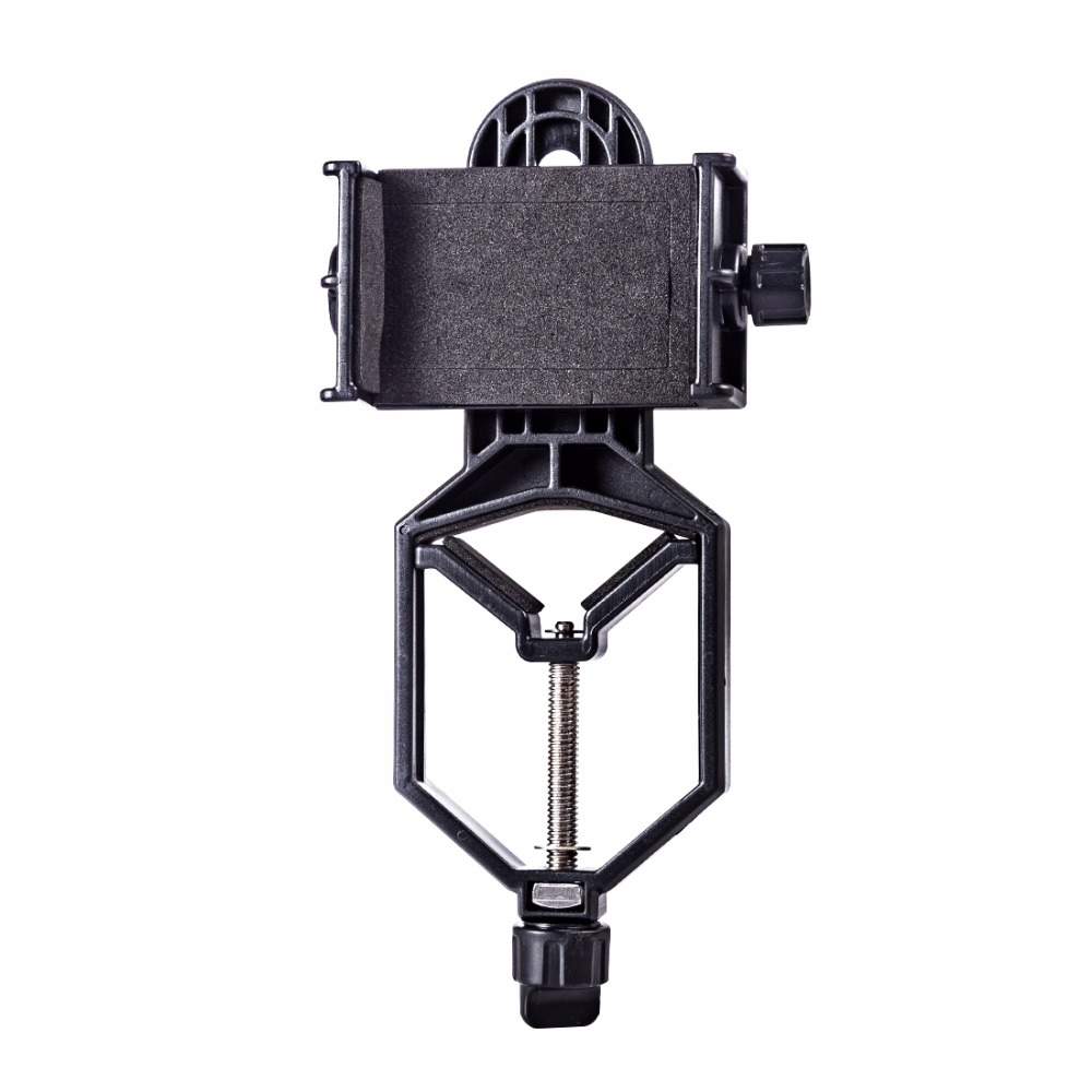 Microscope Astronomical Telescope Single And Double Cylinder Digital Shooting Phone Stand Holder Clip Lazy Stent Bracket