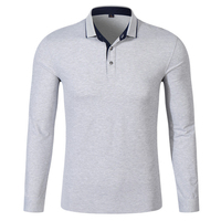 Brand Men Polo Hombre Shirt Mens Fashion Collar Shirts Long Sleeve Casual Camisetas Masculinas Plus Size
