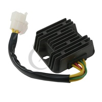 Black Voltage Regulator Rectifier For Hyosung GT650R GT650 Comet GV650 GT650S