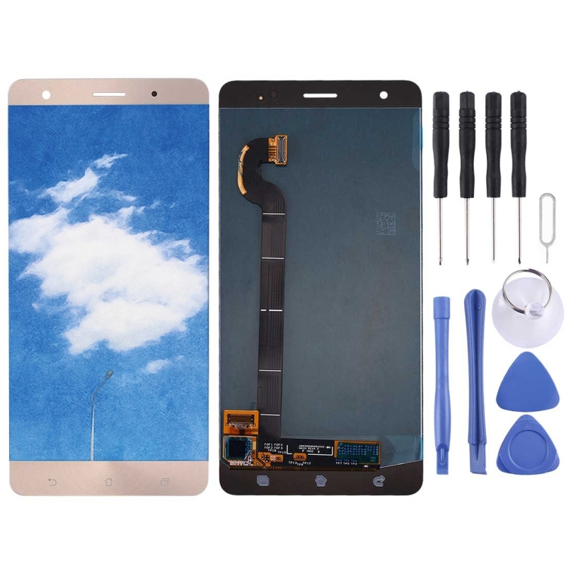High Quality LCD Screen and Digitizer Full Assembly Lcd Replacement Glass For Asus ZenFone 3 Deluxe