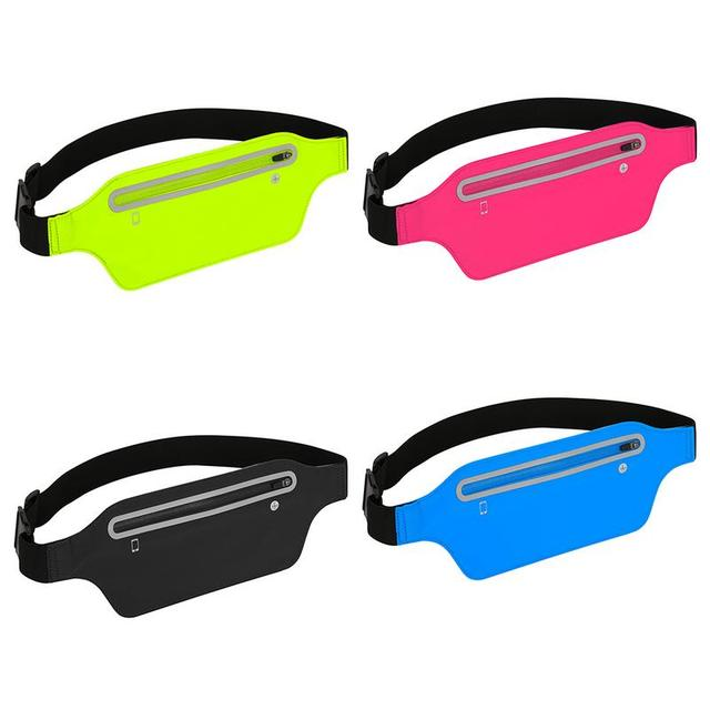 Super-Thin Waterproof Sports Waist Bag  4 colors