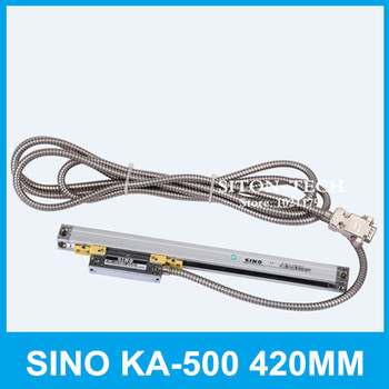Free shipping SINO KA-500 420mm 5um linear encoder scale KA500 0.005mm 420mm position encoder for Spark machine boring machine