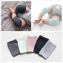 ideacherry 1 Pair Baby Knee Pad Kids Safety Crawling Elbow Cushion Infant Toddler Leg Warmer Knee Support Protector Baby Kneecap(China)