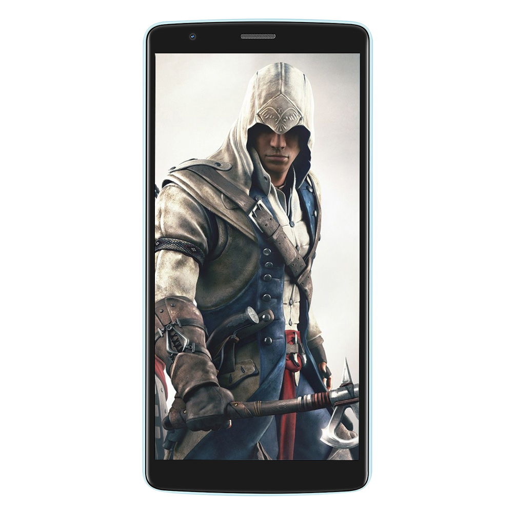 BLACKVIEW A20 3G Smartphone 5.5 Inch MTK6580 Quad Core 1.3GHz 1GB RAM 8GB ROM Android 8.0 Dual Back Cameras 3000mAh Mobile Phone