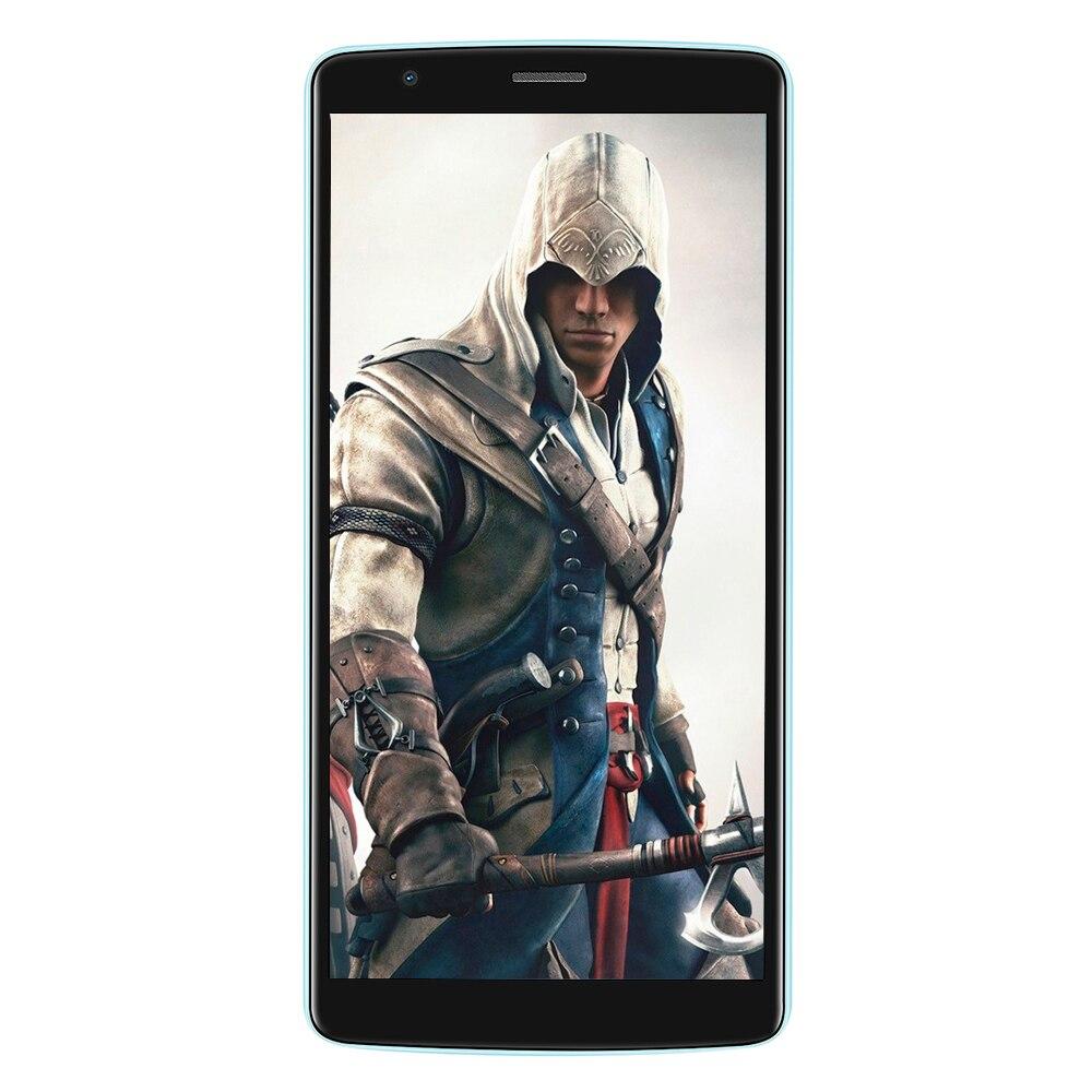 BLACKVIEW a A20 3G Smartphone 5,5 pulgadas MTK6580 Quad Core 1,3 GHz 1 GB RAM 8 GB ROM Android 8,0 doble vuelta cámaras 3000 mAh teléfono móvil