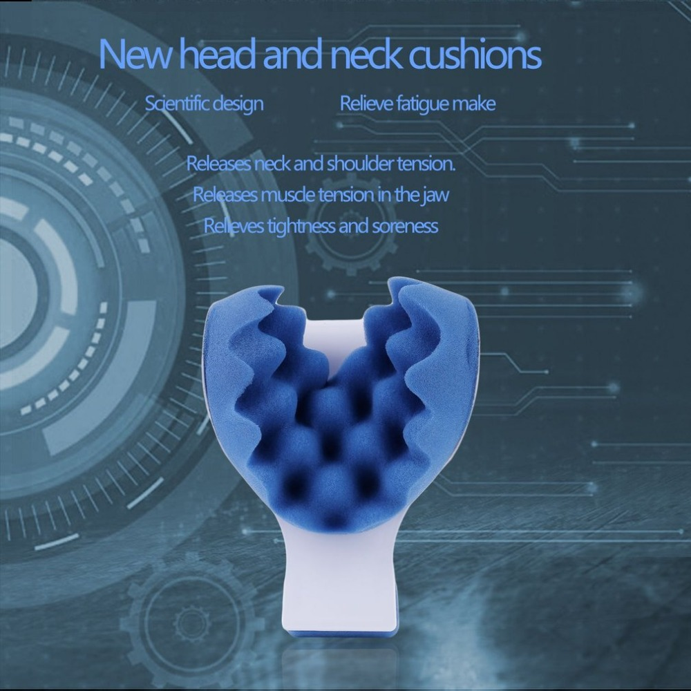 Neck Support Tension Reliever- releases muscle tension in the jaw