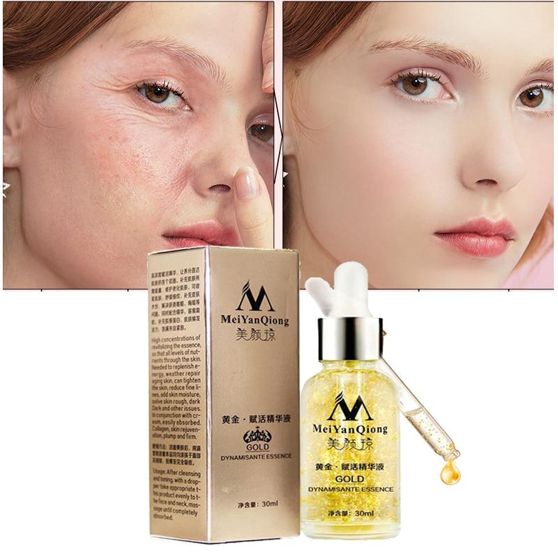 24k gold serum face cream skin care anti wrinkle aging collagen whitening Moisturizer lift cream hyaluronic acid repair essence