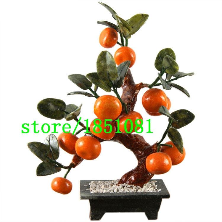 Hot Sale Potted Edible Fruit Seeds mini Bonsai Orange Seeds China Climbing Orange Tree Seeds 100% fresh 100 PCS / bag