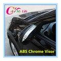 Nueva Modificado ABS Chrome Retrovisor Visera Cubierta Especial Para Sun Rain Guardia Escudo Para SportageR Para Kia Sportage R 2011-2015