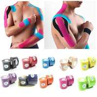 5 cm * 5 m Sport band heftpflaster elastische bandage teip sport taping kinesiologie band vendas adhesivas klebrige sport