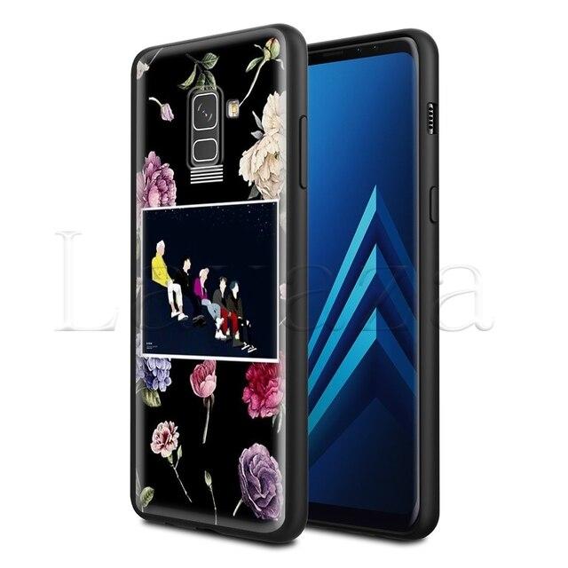 Lavaza Store flor suave silicona funda para Samsung Galaxy S6 S7 borde S8 S9 S10e más A3 A5 A6 A7 A8 A9 J6 Nota 8 9 2018