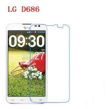 3 PCS HD telefone filme PE toque preservar a visão para LG G Pro Lite dupla D686 protetor de tela com Limpar