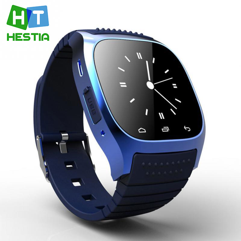 HESTIA M26 Bluetooth Reminding Digital font b Smartwatch b font Wristwatch montre connecter for Android Samsung