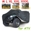 All size 3 colors Universal ATV Cover All Terrain Vehicle Beach motorcycle Protect WaterProof Anti-UV Dustproof Quad Bike Cover