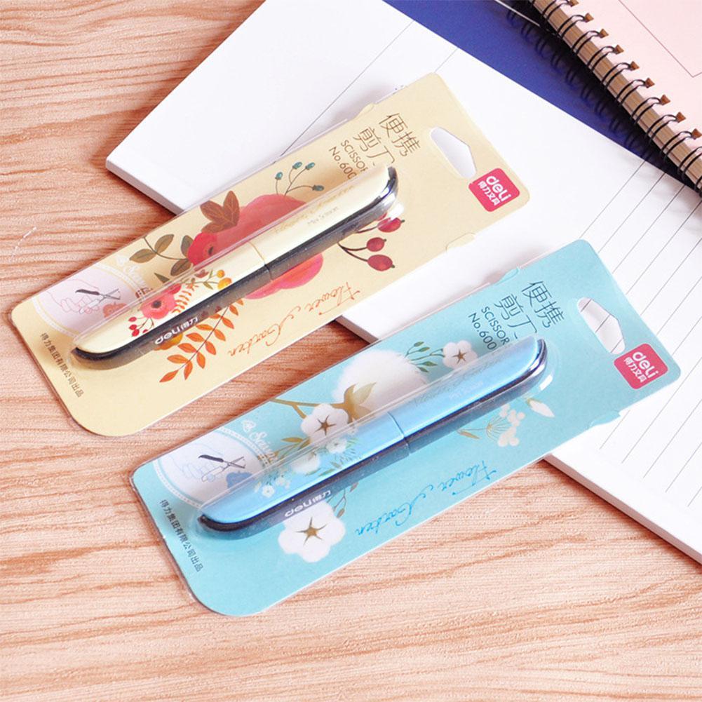 Kinder sicherheit tragbare falten typ Scrapbooking schere Büro schneiden liefert Chinesischen stil blume Für Kinder r20