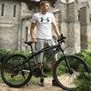 26 Inch 24 Speed Mountain Bike Aluminum Alloy Two Disc Brakes Oil Disc Brakes Skateboarding Men