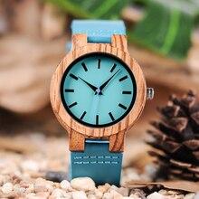 Casual Men Women High-Quality Quartz Wood Watches