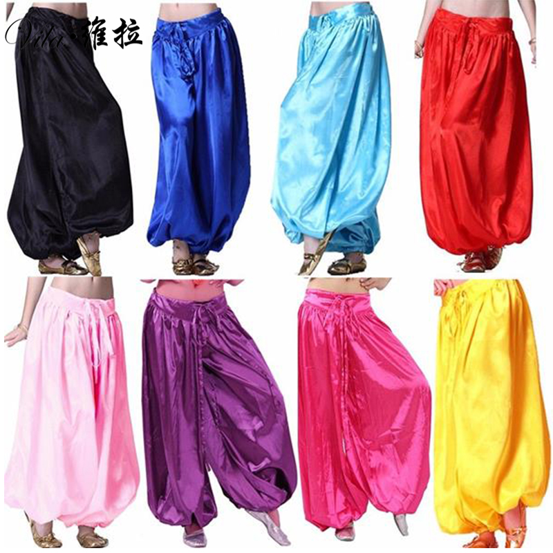 2018 Belly Dance Tribal Harem Pants Bellydance Indian Pants Egyptian Lantern Pants For Christmas Loose Trousers Assorted Color