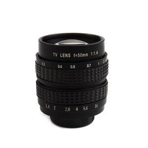 Image 2 - 50mm F1.4 CCTV Movie lens + C Mount to Canon EOS M EOS M2 M3 M5 M6 M10 Mirrorless