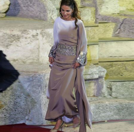 moroccan kaftan 2017 new chiffon long sleeves beaded luxury silver