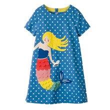 a25b73bf8831c Bébé robe pour filles 2018 D été Floral Robe Princesse Costume Licorne  Partie Robes vêtement fille pour les Filles vêtement pour.
