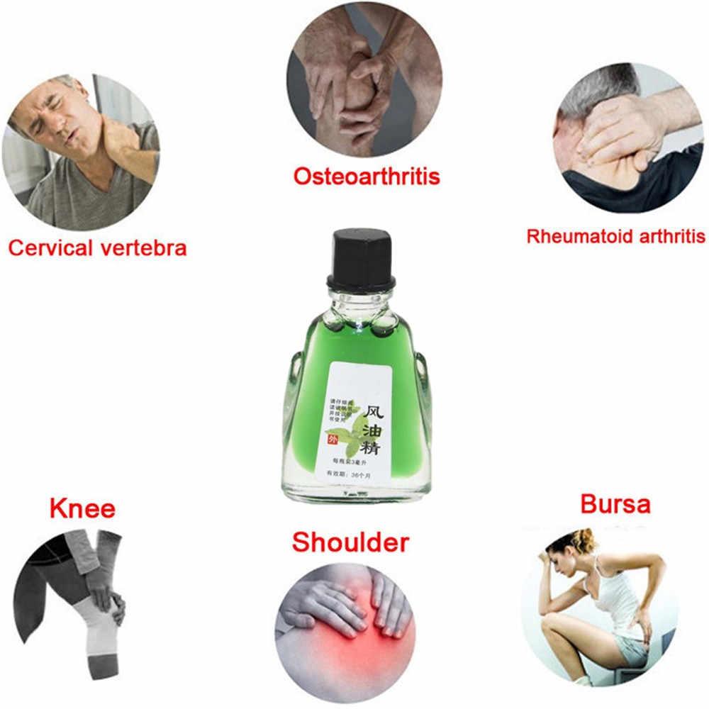 ミント痛みエッセンシャルオイルグリーンクリーム Rthritis 緩和ひずみマッサージリラクゼーションミントリウマチ関節痛 3 ミリリットル